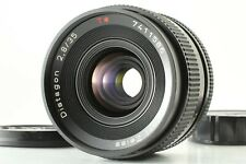 CONTAX CARL ZEISS DISTAGON T* 35mm F/2.8 MMJ C/Y MOUNT MF WIDE ANGLE LENS