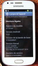 Téléphone Samsung Galaxy trend GT -S 7560  désimlocké (avec  housse rouge)