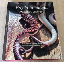 PUGLIA IN CUCINA - APULIAN COOKERY - 80 Recipes - Italian/English - HCDJ Book