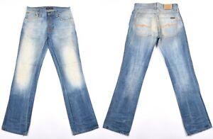 Nudie Slim Jim Org Crispy Worn IN Coton Bio Hommes Jean