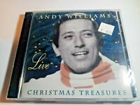 Andy Williams Live: Christmas Treasures by Andy Williams CD Sep-2003 NEW SEALED