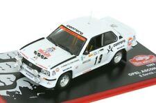 OPEL ASCONA 400 Serviá Rally Montecarlo 1983 1/43 iXO Altaya Diecast