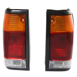 FIT 85-98 MAZDA B2000 B2200 B2600 PICKUP TAIL LIGHT LAMP SET2Pcs LH / RH SIDE