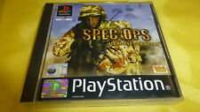 SPEC OPS : AIRBORNE COMMANDO for Playstation 1  (PAL 2002)