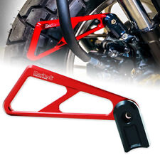 MORITECH RED BRAKE HOSE GUARD PROTECTOR FIT NEW HONDA Z125 MONKEY 125 2018-2020