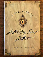A TREASURY OF LATTER-DAY SAINT LETTERS by Larry E. Morris ~ HC/DJ ~ LDS Mormon