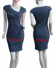 Knee Length Asymmetric Work Dresses for Women