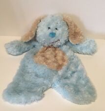Baby Ganz Flat-a-Pat Puppy Dog Blanket Mat Soft Blue Security Baby Lovey