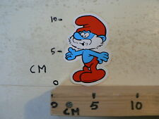 STICKER,DECAL SMURF  RED  SMURF 1978 SEPP BY WP AB A