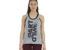 Abbigliamento sportivo da donna adidas grigio manica corta
