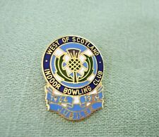 WEST OF SCOTLAND INDOOR BOWLING CLUB BADGE JUBILEE