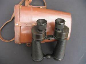 Vintage Barr & Stroud 7x CF30 Binoculars and Case.