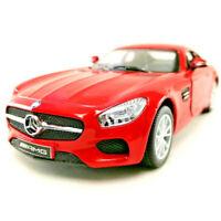 "Brand New 5"" Kinsmart Mercedes Benz AMG GT Diecast Model Toy Car 1:36 Red"