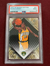 Kevin Durant 2007 Upper Deck SP Rookie Edition Rookie Card PSA 9 Mint
