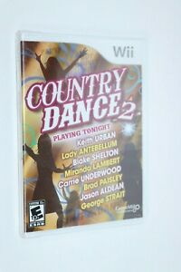 NINTENDO WII ** Country Dance 2 ** BRAND NEW FACTORY SEALED SHIPS SAME DAY