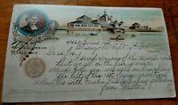 1893 WORLD'S COLUMBIAN EXPOSITION OFFICIAL SOUVENIR COLUMBUS THE FISHERIES BLDG