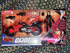 G.I. Joe Classified Series Baroness with C.O.I.L. Figure & Motorcycle On Hand