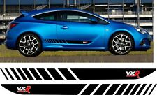 Vauxhall Astra VXR Side Stripes Graphics Decals Stickers