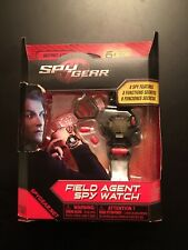 Spy Gear Field Agent Spy Watch New Secret Agent 8 Spy Features