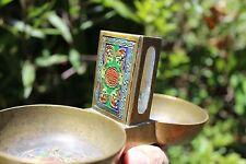 Tobacciana: vintage Chinese tobacco/opium cloisonné set