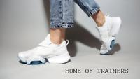 Nike Air Zoom SuperRep White Blue BQ7043 100 Girls Women's Trainers (PTI)