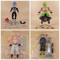 Dragon Ball Z Super Saiyan Vegeta Broli Torankusu Majin Buu Figure Juguetes PVC