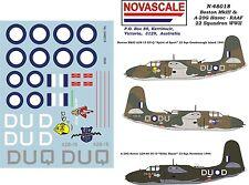 RAAF Boston III & A-20G Havoc Decals 1/48 Scale N48018