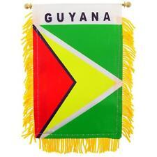 GUYANA flag automobile rearview mirror or window flag car Home GUYANA pride