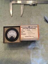 Vtg Radio Panel Meter Ge Dc Milliamperes 0 30 Model Asd49 1 Me456
