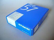 Rare POLAROID 57 Film ISO 3000 4x5 Black & White 20 Fotos Typ 55
