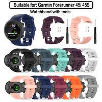 Reemplazo Correa Reloj Deportivo Para Accesorios Reloj Garmin Forerunner 45/45S