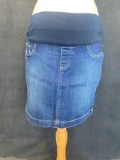 Seraphine Maternity Denim Skirt