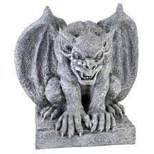 "Gomorrah The Gothic Gargoyle Design Toscano 11½"" Faux Antique Stone Statue"