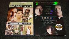 THE ARCHITECT & DOUBT-2 movies-VIOLA DAVIS, MERYL STREEP,PHILIP SEYMOUR HOFFMAN