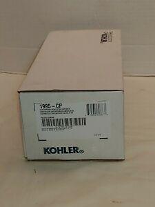 NEW Open Box Kohler K-1995-CP Through In Counter Chrome Soap Lotion Dispenser