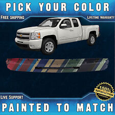 NEW Painted To Match- Front Bumper Impact Face Bar For 2007-2013 Chevy Silverado