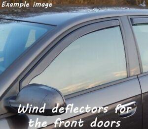 Wind deflectors for Volvo S40 Typ M 2004-2012 Sedan Saloon 4doors front
