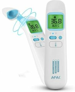 Infrared Digital Thermometer for Adults Kids Forehead Ear with Magnetic Cover