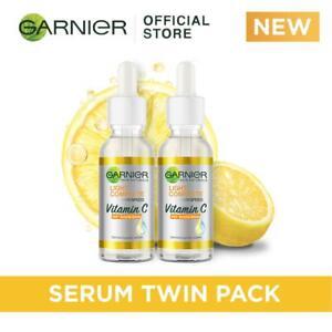 Garnier Light Complete VITAMIN C Booster Face Serum 30ml x 2 (Pack of 2)