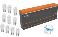 10 Stück W21/5W 12V 21/5 Watt Sockel T20 W3x16q Glassockelbirne LONG LIFE