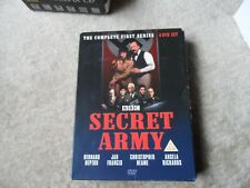 Secret Army - The Complete First Series - 1st -- 4 DVD Box Set - PAL REGION 2