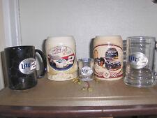 Rusty Wallace #2 Miller Genuine Draft NASCAR Ceramic Beer Stein, Mugs,Shot Glass