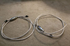 Crystal Cable Absolute interconnects, RCA. 80 inches