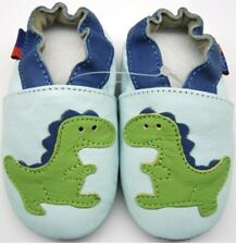 soft sole leather baby shoes toddlers dragon sky 24-36 months minishoezoo