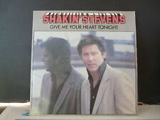 SHAKIN'S STEVENS Give me your heart tonight EPCA2656