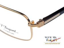 S.T.dupont grises lunettes monture de verres Cadre Occhiali Oчки