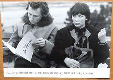 PHOTO FABRICE LUCHINI, V. THEVENET - VINCENT MIT L'ANE