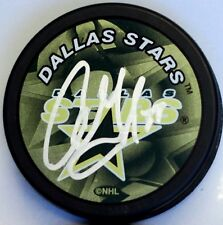 COLBY ARMSTRONG Signed DALLAS STARS PUCK!! MAKE OFFER! 1000934