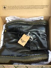 Doc Martens Mens/ Unisex Black Smooth Leather Boots 1460 8hole Uk8/42 With Box