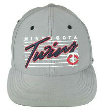 2ecd5e904c4ec Minnesota Twins Stretch Fit Gray 47 Hat - Small Medium MLB Cap Size  6 7